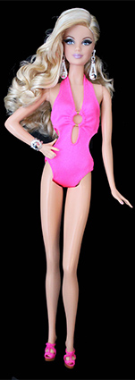 Barbie Collection Look - City Shine - Blue Dress
