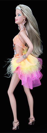 Barbie Collection Pop Culture - Dancing with the Stars Samba