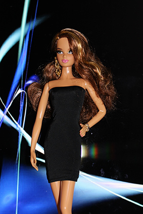 Barbie Collection City Shine - Gold Dress