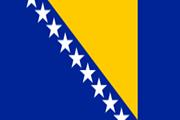 Drapeau Bosnie Herzégovine