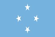 Drapeau Micronésie
