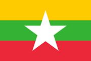 Drapeau Myanmar