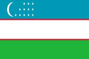 Drapeau Ouzbekistan