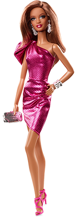 Barbie Collection Look - City Shine - Pink Dress