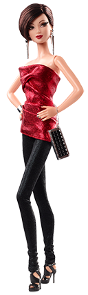 Barbie Collection Look - City Shine - Red Dress