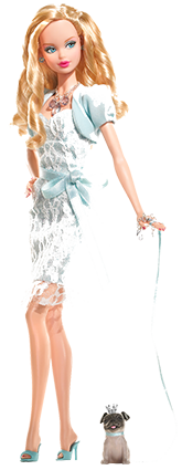 Barbie - Collection - Birthstone - Miss Aquamarine