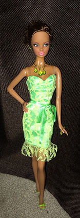 Barbie - Collection - Birthstone - Miss Peridot