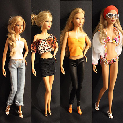 Barbie Basics - Modèle n°12 - Collection 001