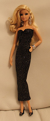 Barbie Collection Look - Red Carpet - Pink Gown