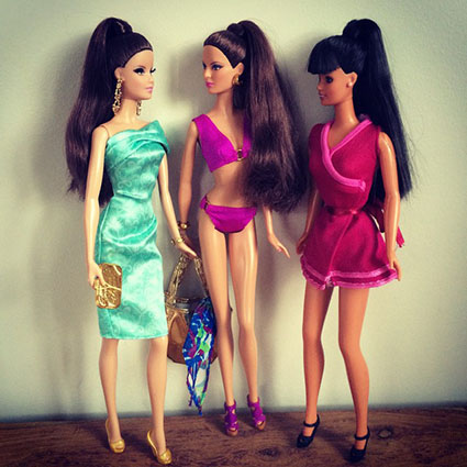 Barbie Collection Look - Red Carpet - Green Dress