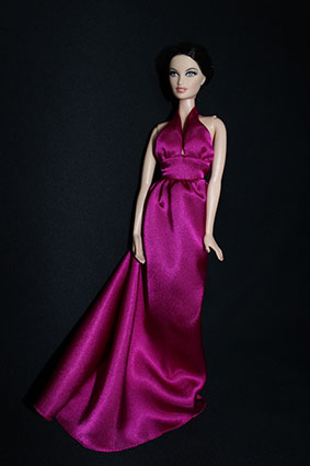Barbie de collection avec un corps de muse
