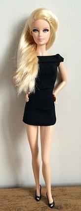 Barbie Basics - Modèle n°1 - Collection 001
