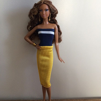Barbie Collection Look - Red Carpet - Gold Gown
