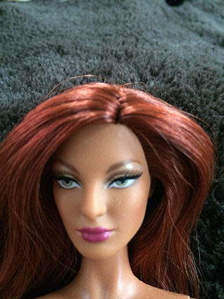 Barbie Collection Designer - Christian Louboutin - Anemone