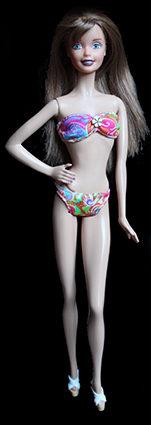 Barbie ooak vintage et muse