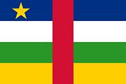Drapeau Centrafrique