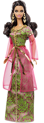 Barbie Collection Dolls of the World Morocco