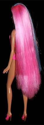 Barbie - Coiffures princesse magiques, bleu