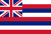 Drapeau Hawaii