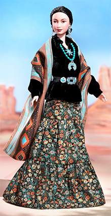 Barbie Collection Dolls of the world Princess of the Navajo