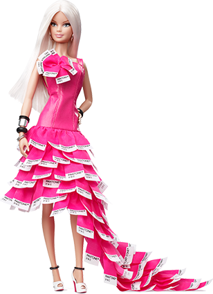 Barbie Collection Pop Culture - Pink In PANTONE