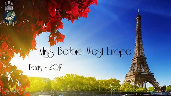 Miss Barbie Europe de l'Ouest 2017