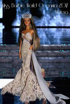 Miss Barbie Oceania 2017