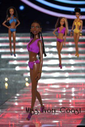Miss Barbie Ivory Coast - Leslie