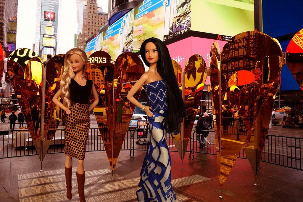 Barbie à New York