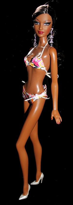 Barbie Mina Maillot de Bain (face)