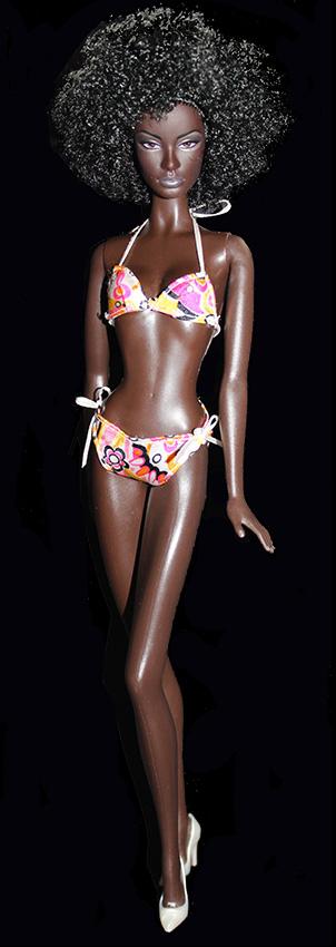Barbie Nichelle Maillot de Bain (face)