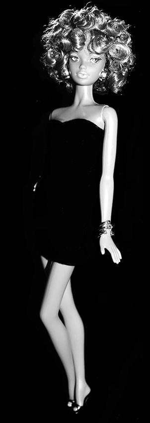 Barbie Nicinha Noir et Blanc