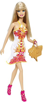 Barbie Fashionistas Tropical