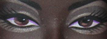 Barbie Eyes Black