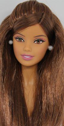 Barbie Hair Brown