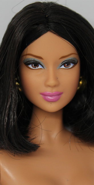 Barbie Hair Black