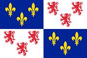 Drapeau Picardie (FRA)