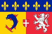 Drapeau Rhône-Alpes