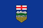 Drapeau Alberta (CAN)