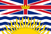 Drapeau British Columbia