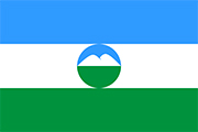 Drapeau Kabardino-Balkarie