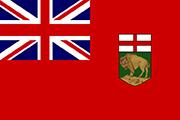 Drapeau Manitoba (CAN)