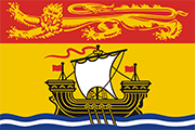 Drapeau New Brunswick