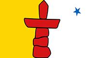 Drapeau Nunavut