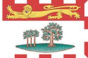 Drapeau Prince Edward Island