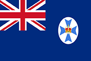 Drapeau Queensland (AUS)