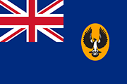Drapeau South Australia (AUS)