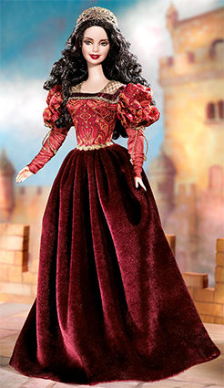 Barbie Princess of the Portuguese Empire - Dolls of the World
