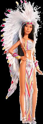 Barbie Cher 70's Bob Mackie