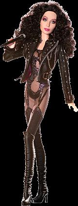 Barbie Cher 80's Bob Mackie